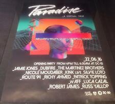 More details for paradise 2016 (jamie jones) @ dc-10 club - ibiza club posters - techno music dj