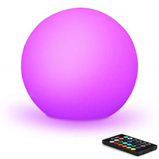 Mr.Go 30cm Waterproof LED Mood Light Ball Lamp w/Remote, 16 Colors w/Dimmable