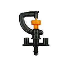 10pcs 360 degree Garden Irrigation Tool Knob Micro Sprinkler Head Shelf Watering