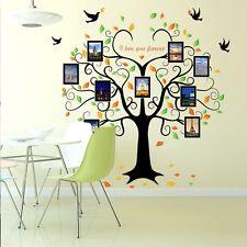 Wandaufkleber Baum Wandtattoo Fotobaum Stammbaum Wandsticker Baum Liebe  Familie