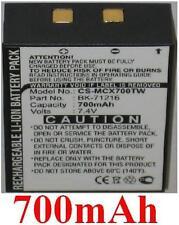 Batterie 700mAh type BK-71216 MN-0160001 Pour Cobra LI 6000