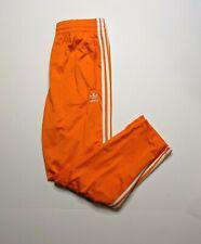 NEw Mens Adidas Originals Firebird Track Pants ~ Size Large  #ED7015  Orange