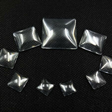 30pcs Transparent Time Gemstone Patches Mosaic Mixed Supplies for Jewelry Making