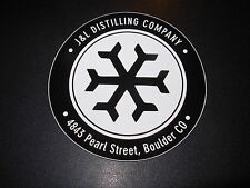 J&L DISTILLING COMPANY Boulder Colorado STICKER decal craft beer brewery brewing