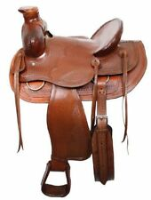 "16"" Buffalo Wade style ranch saddle"