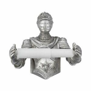 Nemesis Now - Brave Knight - Toilet Roll Holder