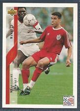 UPPER DECK WORLD CUP USA 1994- #207-MOROCCO-NOUREDDINE NAYBET