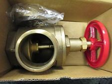 Bh Fire Hose Angle Valve A97 Size 2 12 Male Nst Female Npt With Covers
