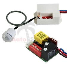 Mini PIR detectores de movimiento para la instalación 12v dc 100 ° Timer relés KFZ Caravan alarma