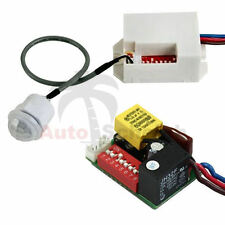 Mini IR Détecteur mvt infrarouge 12v voiture caravane camping Alarme Capteur installation LED