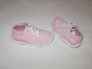 """NWOT stride rite HANNAH STG.3 """"Pink Leather"""""""