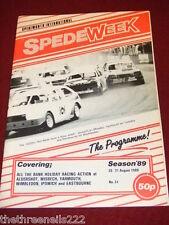 SPEDEWEEK - 1600cc HOT RODS - AUG 26 1989 # 31