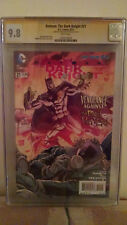 Batman: The Dark Knight #21 (Mad Hatter) CGC 9.8 AUTOGRAPHED by ETHAN VAN SCIVER