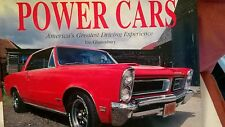 POWER CARS the american driving experience 440 pages hardback