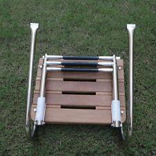 Teak Inboard Boat Swim Platform with 3 Steps Ladder & 2 Rails Affordable