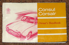 FORD CONSUL CORSAIR propriétaires manuel manuel 1964-STD Deluxe GT, fomoco