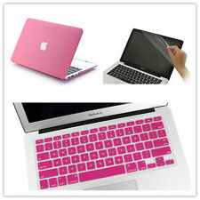 3in1 Rubberized Matte Hard Case Cover Skin Set for MacBook Pro/Air11 13 15Retina