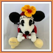 Handmade Crochet Toy Minnie Mouse Inspired