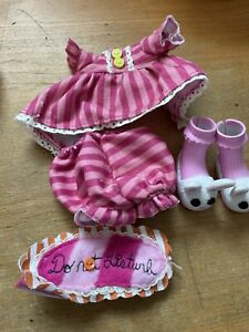 COMPLETE LALALOOPSY DOLL Pajamas OUTFIT FITS FULL SIZE DOLL FASHION CLOTHES