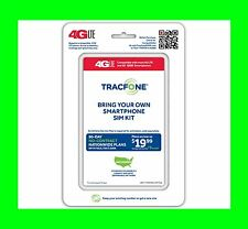 Tracfone NANO SIM card with $99 Plan 1 Year 3x 1200 Min 1200 Text 1.2GB Data GSM