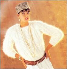 Ladies' Mohair Classic Cable Sweater Vintage Knitting Pattern Instructions