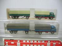 AF45-0,5# 2x Wiking H0 LKW/Sattelzug/Lastzug/Modell Krupp 806, NEUW+1x OVP