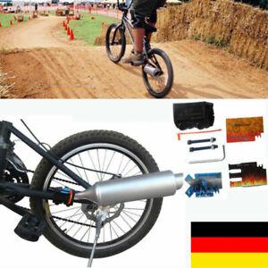 Fahrrad Auspuff Exhaust Motorsound Geräusche Card mit Aufkleber BMX