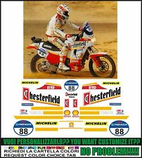 kit adesivi stickers compatibili XT 750 Z SUPER TENERE CHESTER PARIS DAKAR 1991