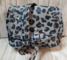 R & Em Bag Black Grey Animal Print - BIN47