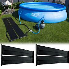 2x Pool Solar Solarabsorber Solarheizung Poolheizung Solarmatte 400 x 70cm 49126