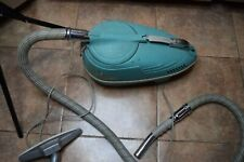 VTG IEC Electra Compact  Canister Vacuum Model C-6, Hose, Attachments, Works!