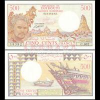 Djibouti 500 Francs, 1988, P-36b, Banknotes, UNC
