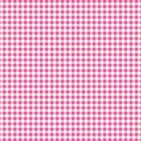Baumwollstoff Meterware 0,5lfm 100% Baumwolle Decke Vichy Karo Rosa Weiß kariert