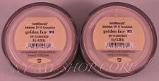 Bareescentuals bareminerals Golden Fair W10 8g XL  foundation SPF 15 -> LOT of 2
