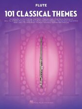 101 Classical Themes for Flute Instrumental Solo Book NEW 000155315