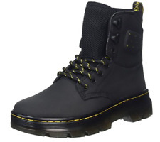 Dr. Martens Unisex Ladies Quinton Black Hiking Nubuck Boots Size UK 3