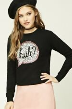 NWT forever 21 sequin top blouse shirt sweater