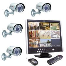 ELRO Videoüberwachungs-Set Komplett 4 Kamera Überwachungssystem 1 TB Festplatte