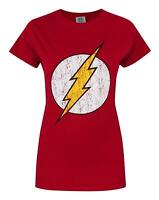 Offical Flash Distressed Logo Women's T-Shirt