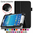 Folio Stand Case Cover for Samsung Galaxy Tab E Lite SM-T113 7-Inch Tablet