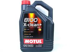 5Liter Motul 8100 X-clean+ 5W30 Motoröl Motorenöl 5W-30 Öl Benzin Diesel