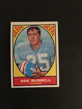 1967 TOPPS FOOTBALL #48   ODE  BURRELL    EX