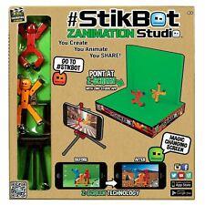 Zing Stikbot Zanimation Studio Pro Spielzeug Figur - Stelle Her, Animate, Share
