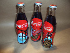 COCA COLA - COKE - 3 X BOTTLE SET 250ML BOX -  LIMITED EDITION - JAPANESE RARE