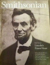 APRIL 2002 SMITHSONIAN MAGAZINE FEATURES  LINCOLN'S FINEST HOUR ON THE COVER