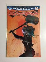 "DC Comics~ Harley Quinn ~Rebirth #1~""Comics Conspiracy Variant Cover""~2016~NM+"