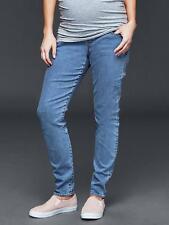 NWT 1969 GAP Womens Maternity Full Panel Resolution True Skinny Jeans Size 6 R