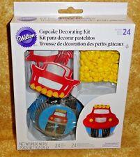 Monster Truck,Cupcake Kit,Picks,Edible Quins,Wilton,415-2195 Decorating Kit
