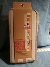 NEW Shoe Hanging Storage Organizer Shelf 10-shelf Rack Closet Holder