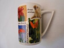 Pride of Barbados Flowers NEW Colorful Coffee Tea Mug Cup